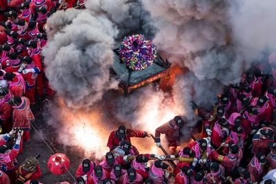 Temple Fair, Wu  Hung Sen , Taiwan