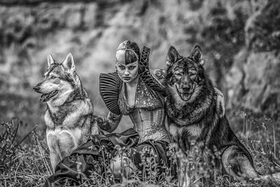 Megan Queen Of Wolves, Smalley  Karen , England