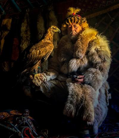 Eagle Hunter With Friend, Boytell  Kerry , Australia
