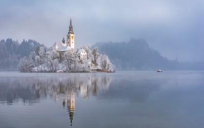 Bled Island, Slovenia, Adamson  Fiona , United Kingdom