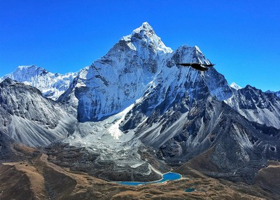 Ama Dablam And Its Blue Lake, Rao  Shreyas , India