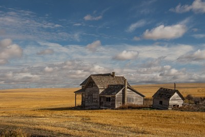 Abandoned In Harvested Palouse, Bodkin  Diane , United States
