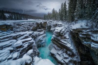 Athabasca Falls, Pou  Toni , Spain