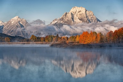 Dawn Oxbow Bend Grand Teton, Clark  Peter , England