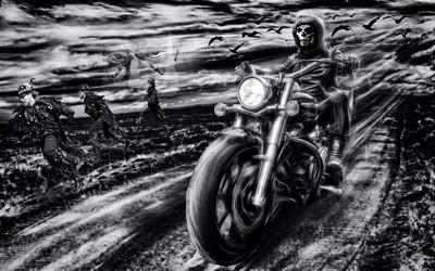 Night Rider, Estill  Steve , England