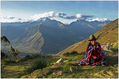 Andes Woman, CONAWAY  WARD , USA