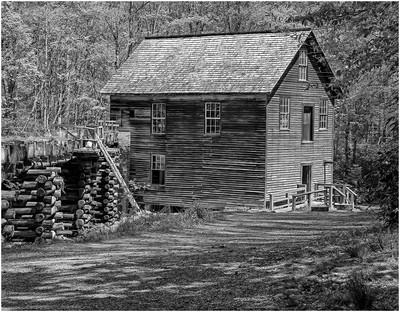 Nineteenth Century Mingus Mill, CONAWAY  WARD , USA