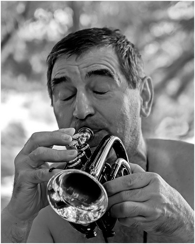 Soulful Piccolo Trumpeter, CONAWAY  WARD , USA