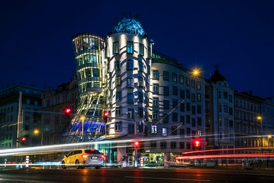Dancing Houses At Night, Ruff  Jerry-Louis , Germany