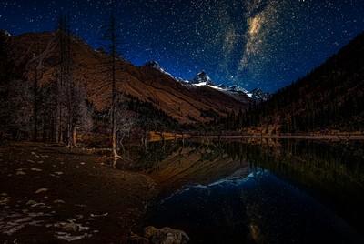 Valley At Starry Night, Li  Jing , China