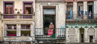 Havana Balcony Lives, Moritz  Vicki , Australia