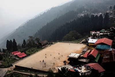 Hill Top Play Ground, Sarkar  Partha Sarathi , India