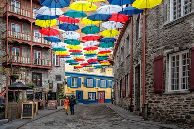 Colourful Street, Lam  Nancy Yok Sim , Canada