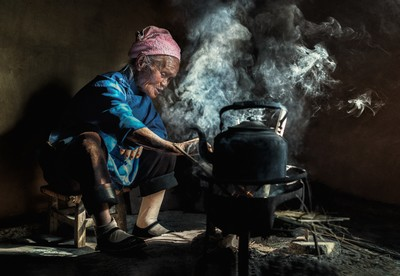 Bouyei Old Woman, Tiong  Chiong Soon , Malaysia
