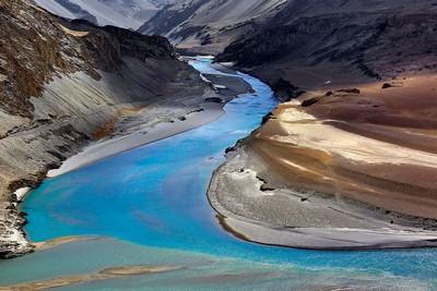 Painted River, Pal  Udayan Sankar , India