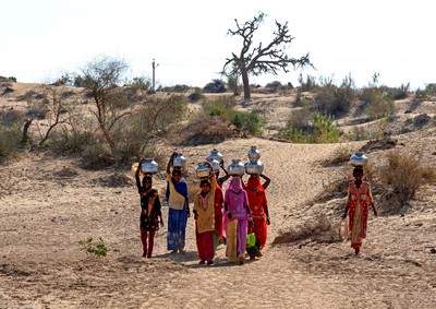 FETCHING DRINKING WATER, DATTA  SHOURJENDRA , India