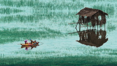Fishing On The Sea 1, CHNG  Kim Yiang , Singapore