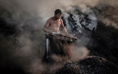 Charcoal Kiln Worker 4, Yap  Kian Meng , Malaysia