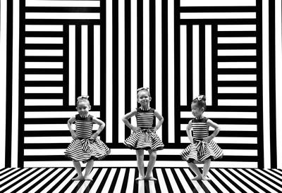 Three Cutie Ballerinas 4, Wong  Godfrey , USA