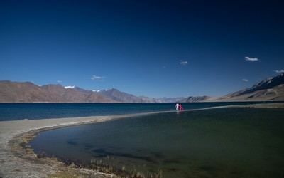 Pangong Lake, DUTTA  CHINMOY , India