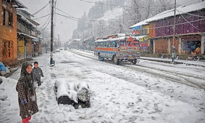 PAHALGAM BEAUTY IN SNOW, BASAK  ABHISHEK , India