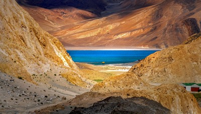 PANGGANG LAKE IN LADAKH, Ghosh Guha  Pinki , India