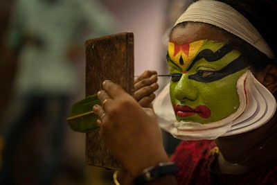 The Kathakali Artist, Reddy  Neelima , India