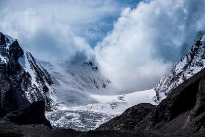 Beautiful Icy Mountains Sikkim, Prabhu  Mithun Prakash , India