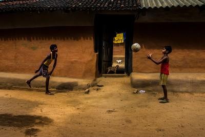 FOOTBALL AND GOATS, DAS  MAYUKH RANJAN , India